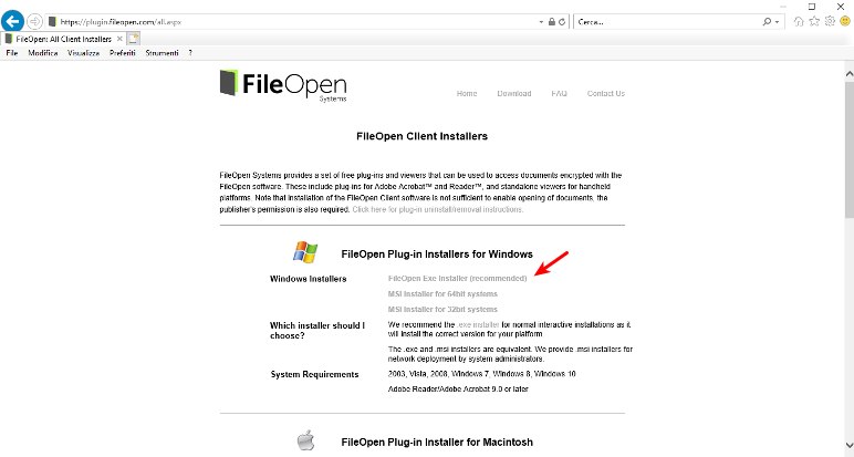 Download FileOpen plugin