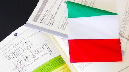 libro e bandiera italiana prodotti offerta cei