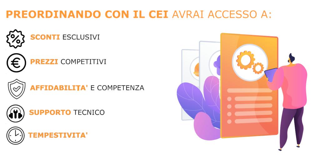 preordinare codici asme 2021 con il comitato elettrotecnico italiano